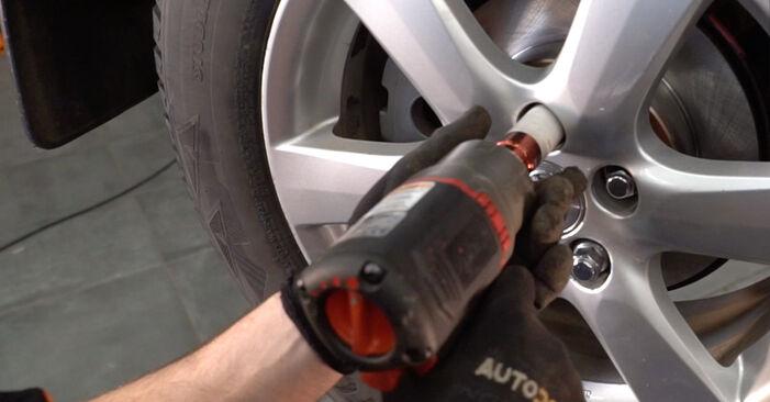 Como trocar Braço De Suspensão no Toyota RAV4 III 2005 - manuais gratuitos em PDF e vídeo