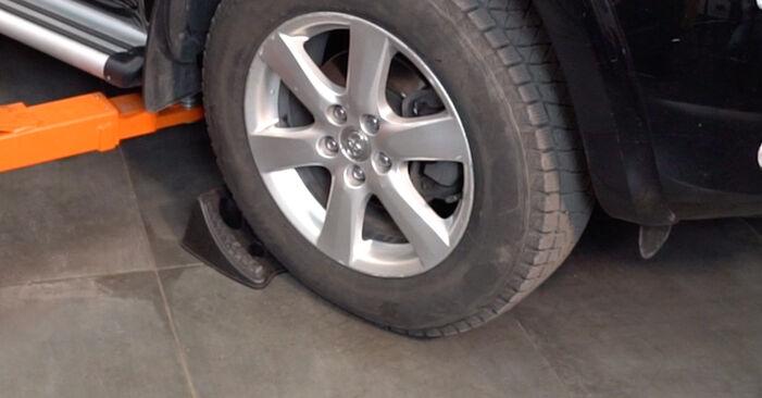 Come cambiare Braccio Oscillante su Toyota RAV4 III 2005 - manuali PDF e video gratuiti