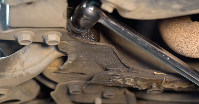 Sostituendo Braccio Oscillante su Toyota RAV4 III 2006 2.2 D 4WD (ALA30_) da solo