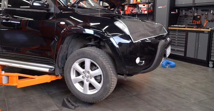 Toyota RAV4 III 2.0 4WD (ACA30_) 2007 Braccio Oscillante sostituzione: manuali dell'autofficina
