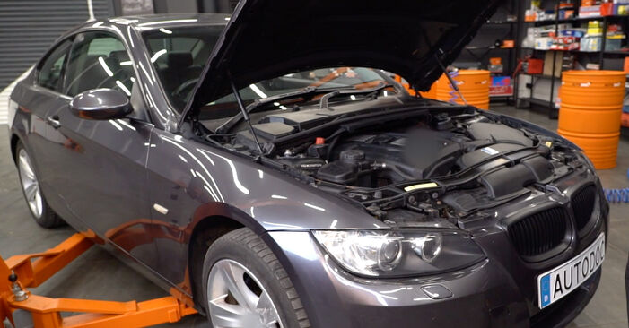 How to change Brake Pads on BMW E92 2004 - free PDF and video manuals