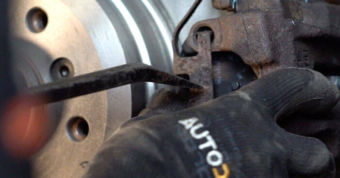 Changing of Brake Pads on BMW E92 2004 won't be an issue if you follow this illustrated step-by-step guide