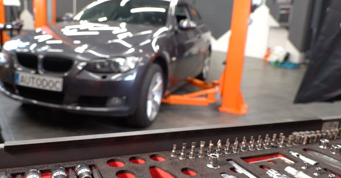 How to replace BMW 3 Coupe (E92) 335i 3.0 2005 Brake Pads - step-by-step manuals and video guides