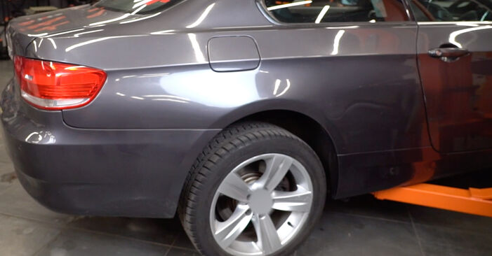 How to replace Brake Pads on BMW 3 Coupe (E92) 2009: download PDF manuals and video instructions