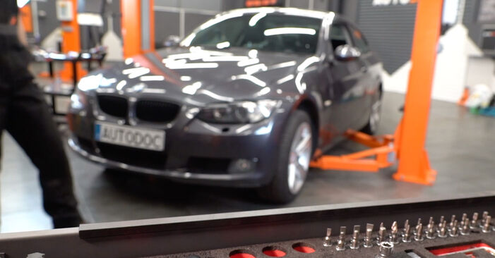 DIY replacement of Brake Pads on BMW 3 Coupe (E92) 335d 3.0 2005 is not an issue anymore with our step-by-step tutorial