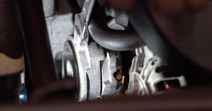 Golf IV Hatchback (1J1) 1.8 T 1999 Kileribberem gør-det-selv udskiftnings værksted manual