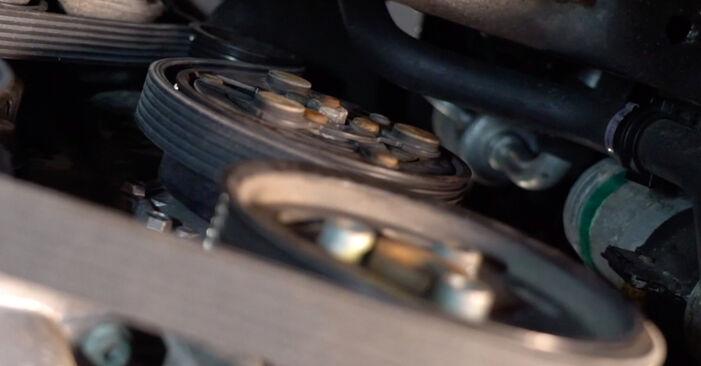 Hvordan man skifter Kileribberem på VW Golf IV Hatchback (1J1) 2000 - råd og tricks