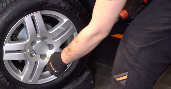 How to remove VW GOLF 1.8 T 2001 Brake Calipers - online easy-to-follow instructions