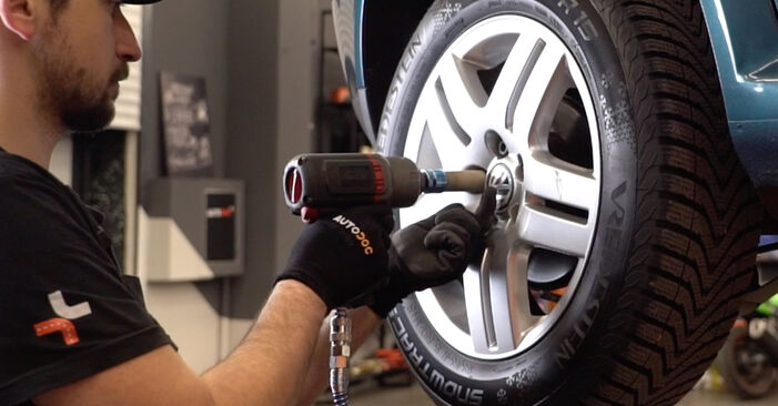 How to remove VW GOLF 1.8 T 2001 Brake Discs - online easy-to-follow instructions