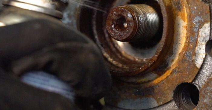 Sostituire Molla Ammortizzatore su VW Golf IV Hatchback (1J1) 1.6 16V 2002 non è più un problema con il nostro tutorial passo-passo