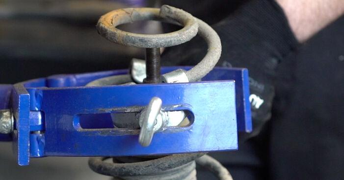 Consigli passo-passo per la sostituzione del fai da te Golf 4 2001 1.8 T Molla Ammortizzatore