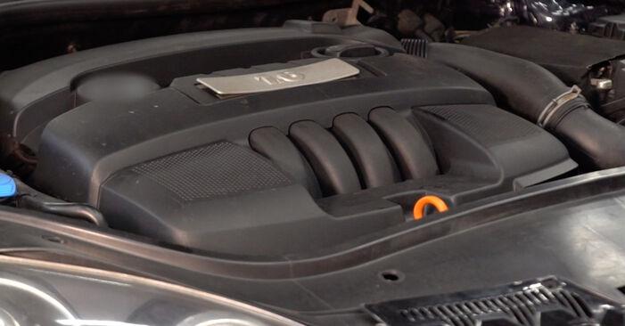 Recomandările pas cu pas pentru înlocuirea de sine stătătoare Golf 5 2009 2.0 TDI 16V Filtru combustibil