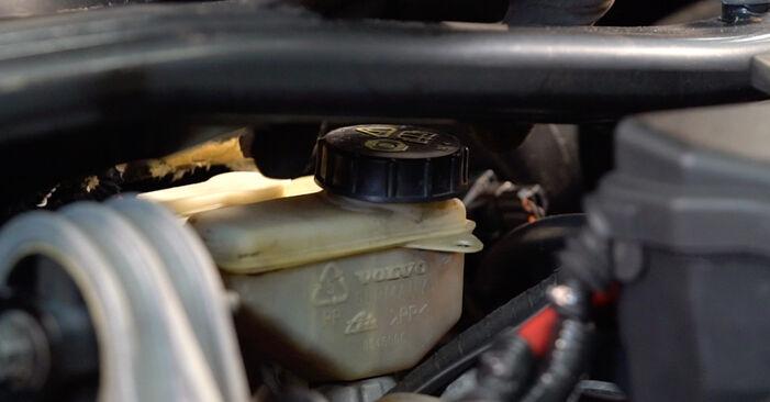 Kaip pakeisti Stabdžių diskas la Volvo V70 SW 1999 - nemokamos PDF ir vaizdo pamokos