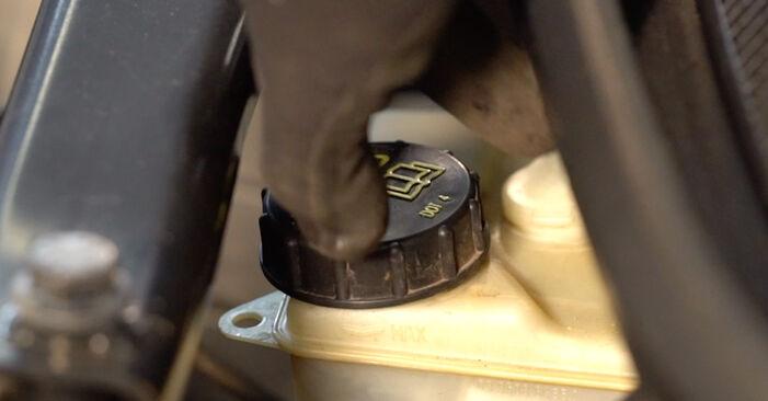 Ar sudėtinga pasidaryti pačiam: Volvo V70 SW 2.4 D 2005 Stabdžių diskas keitimas - atsisiųskite iliustruotą instrukciją