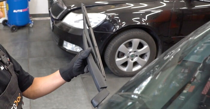 How to replace OPEL Meriva A (X03) 1.7 CDTI (E75) 2004 Wiper Blades - step-by-step manuals and video guides