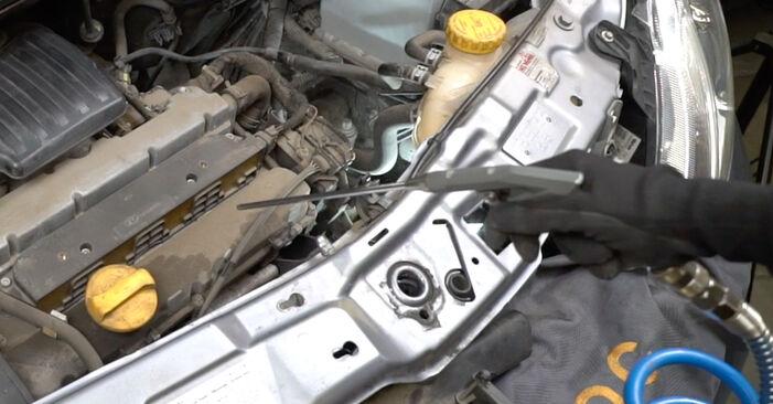Austauschen Anleitung Zündkerzen am Opel Meriva x03 2005 1.7 CDTI (E75) selbst