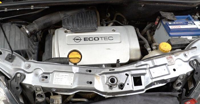 Hogyan Opel Meriva x03 2003 Gyújtógyertya cseréje - ingyenes PDF és videó-útmutatók