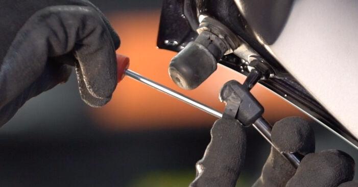 Heckklappendämpfer Golf 5 2.0 GTI 2005 wechseln: Kostenlose Reparaturhandbücher
