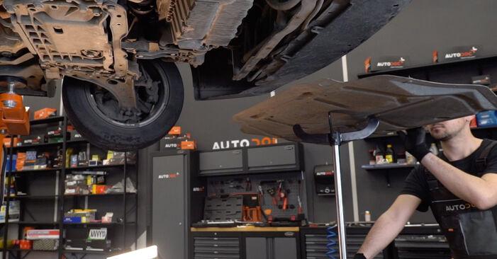 Come rimuovere VW GOLF 2.0 TDI 16V 2007 Cinghia Poly-V - istruzioni online facili da seguire
