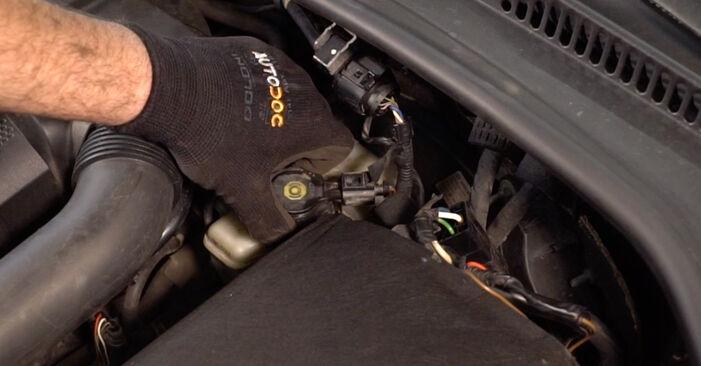 Golf 5 1.6 2005 Bremsscheiben austauschen: Unentgeltliche Reparatur-Tutorials