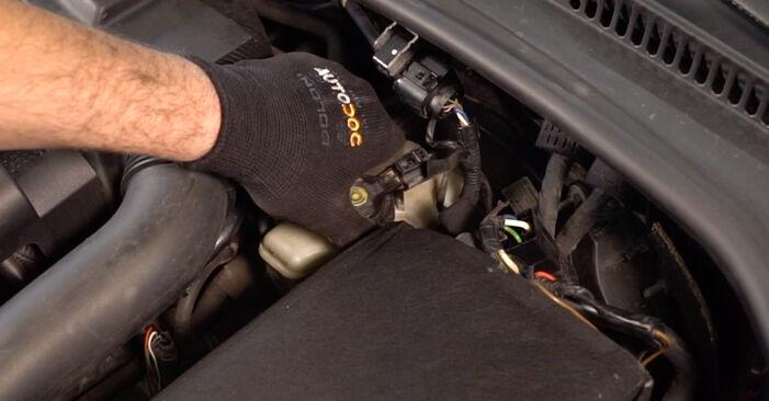 Schritt-für-Schritt-Anleitung zum selbstständigen Wechsel von Golf 5 2009 2.0 TDI 16V Bremsscheiben