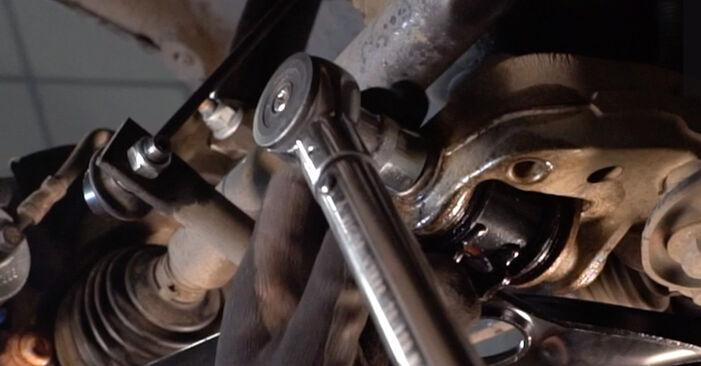 VW GOLF 2003 Querlenker Schritt-für-Schritt-Tutorial zum Teilewechsel