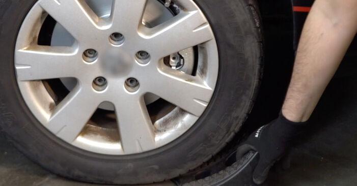 Changer Étrier De Frein sur VW Golf V 3/5 portes (1K1) 1.6 FSI 2006 par vous-même