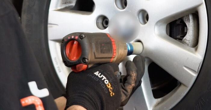 Comment retirer VW GOLF 2.0 TDI 16V 2007 Étrier De Frein - instructions en ligne faciles à suivre