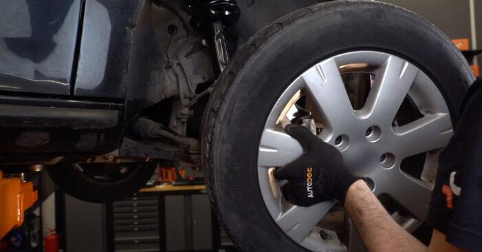 Comment remplacer Étrier De Frein sur VW Golf V 3/5 portes (1K1) 2008 : téléchargez les manuels PDF et les instructions vidéo