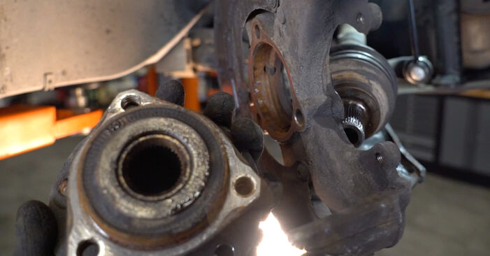 How to remove VW GOLF 2.0 TDI 16V 2007 Wheel Bearing - online easy-to-follow instructions