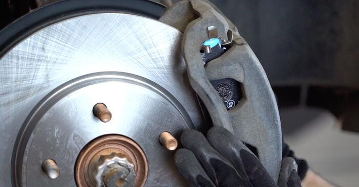 Wie schwer ist es, selbst zu reparieren: Bremsscheiben NISSAN LEAF Elektrik 2016 Tausch - Downloaden Sie sich illustrierte Anleitungen
