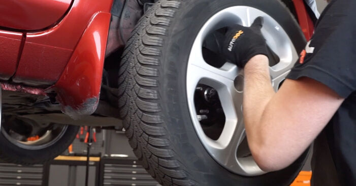 Wie NISSAN LEAF Elektrik 2014 Bremsscheiben ausbauen - Einfach zu verstehende Anleitungen online