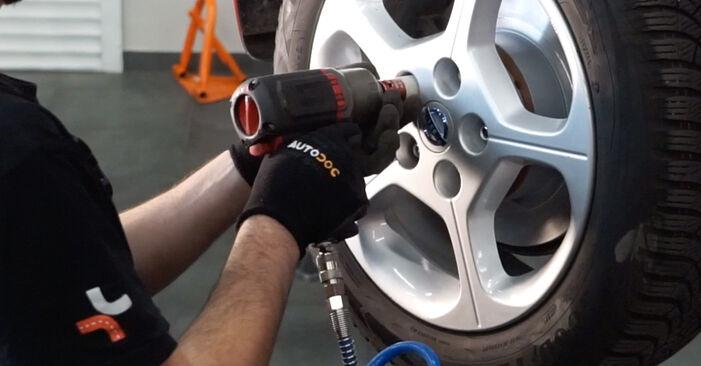 Bremsbeläge beim NISSAN LEAF Elektrik 2017 selber erneuern - DIY-Manual