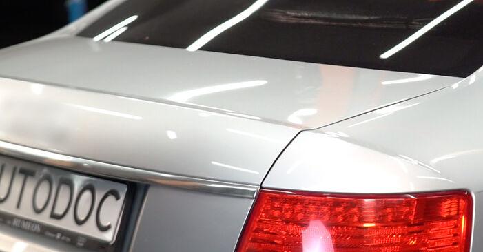 Heckklappendämpfer Ihres Audi A6 4f2 2.4 2004 selbst Wechsel - Gratis Tutorial