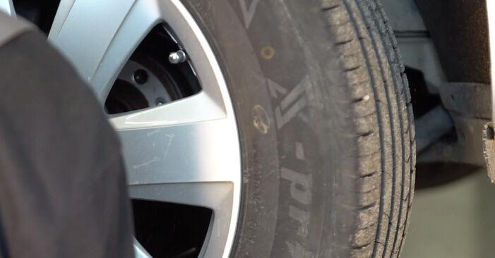 Jak wymienić Tarcza hamulcowa w AUDI A6 Sedan (4F2, C6) 2009: pobierz instrukcje PDF i instrukcje wideo