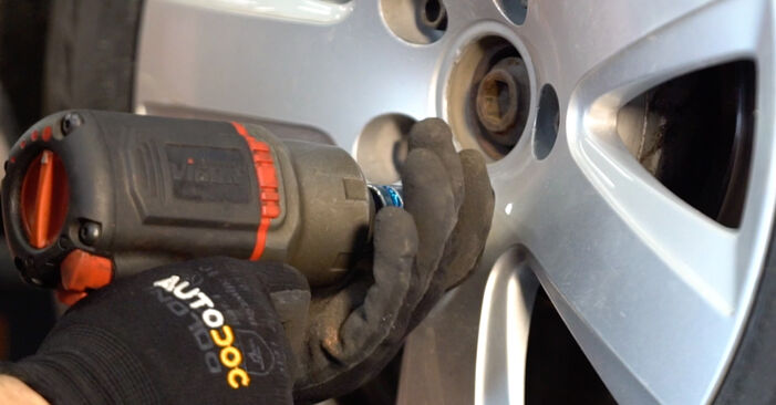 How to remove AUDI A6 2.0 TFSI 2008 Brake Pads - online easy-to-follow instructions
