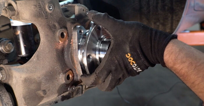 Kiek užtrunka keitimas: Audi A6 4f2 2004 Rato guolis - informatyvi PDF instrukcija