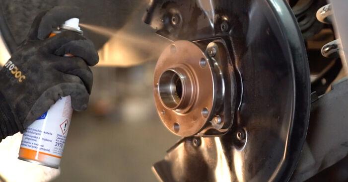 Išsamios Audi A6 4f2 2009 2.0 TFSI Rato guolis keitimo rekomendacijos