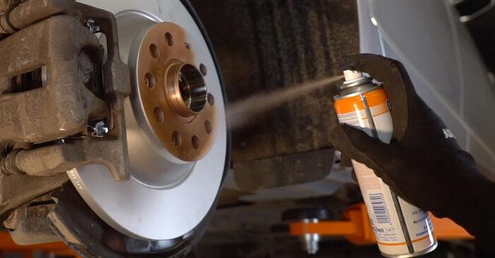 Wie schwer ist es, selbst zu reparieren: Radlager Audi A6 C6 3.0 TDI quattro 2010 Tausch - Downloaden Sie sich illustrierte Anleitungen