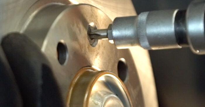 206 CC (2D) 1.6 16V 2009 2.0 S16 Radlager - Handbuch zum Wechsel und der Reparatur eigenständig