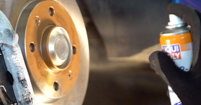 Radlager Peugeot 206 cc 2d 1.6 HDi 110 2000 wechseln: Kostenlose Reparaturhandbücher