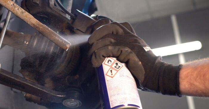 206 CC (2D) 1.6 16V 2009 Track Rod End DIY replacement workshop manual
