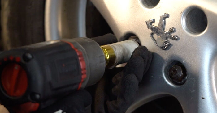 Changing Track Rod End on PEUGEOT 206 CC (2D) 1.6 2001 by yourself