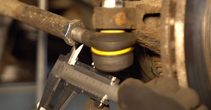 How to replace Track Rod End on PEUGEOT 206 CC (2D) 2003: download PDF manuals and video instructions