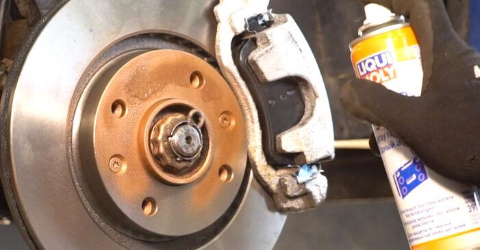 206 CC (2D) 1.6 16V 2002 Disques De Frein manuel d'atelier pour remplacer soi-même