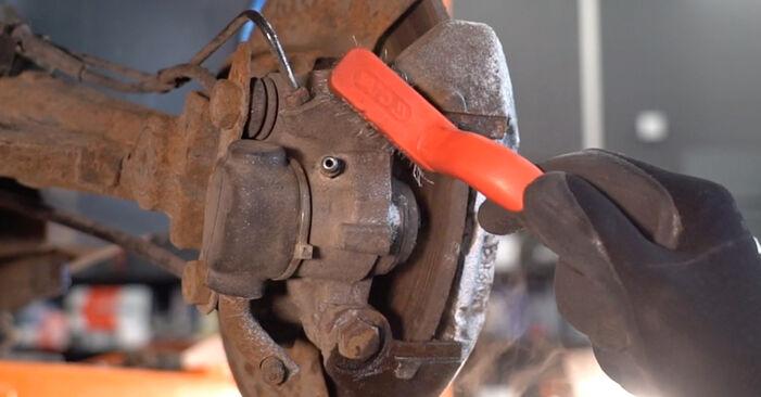 206 CC (2D) 1.6 16V 2009 2.0 S16 Bremsscheiben - Handbuch zum Wechsel und der Reparatur eigenständig