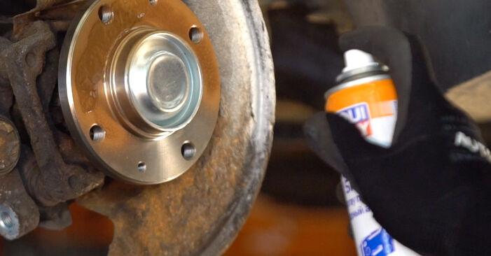 Bremsscheiben Peugeot 206 cc 2d 1.6 HDi 110 2000 wechseln: Kostenlose Reparaturhandbücher