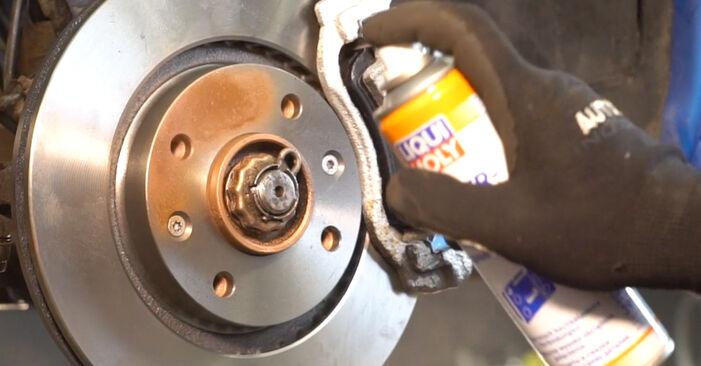 Wie schwer ist es, selbst zu reparieren: Querlenker Peugeot 206 cc 2d 1.6 HDi 110 2004 Tausch - Downloaden Sie sich illustrierte Anleitungen