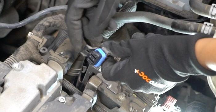 Meriva A (X03) 1.3 CDTI (E75) 2006 Запалителна бобина наръчник за самостоятелна смяна от производителя