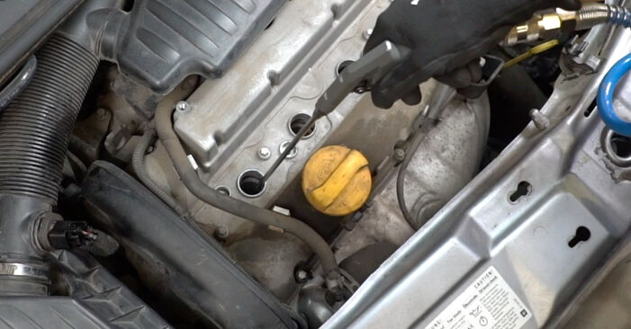 Как се сменя Запалителна бобина на Opel Meriva x03 2003 - безплатни PDF и видео уроци